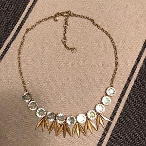 Jcrew Matte Gold Necklace